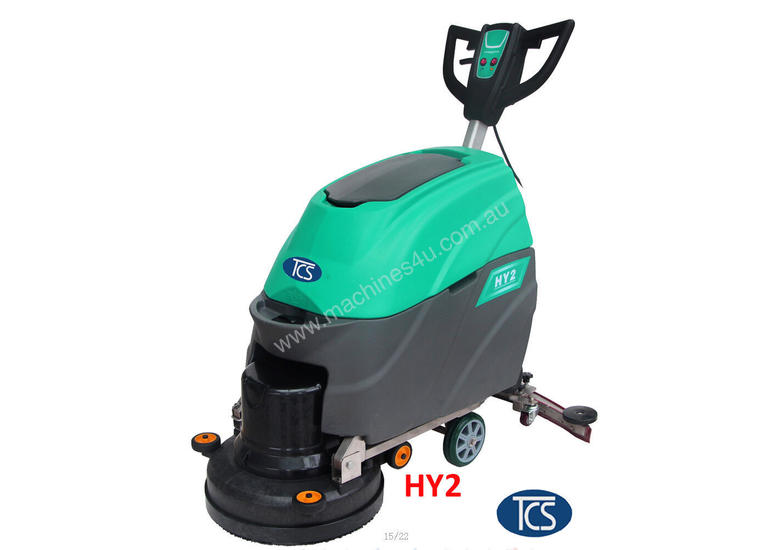 New Tcs TCS Commercial Powered Auto Floor Scrubber Machine With - How to use a floor scrubber machine