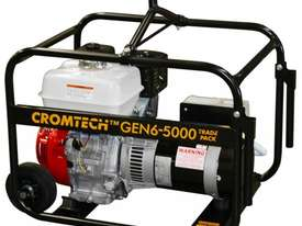 Cromtech Honda 6kVA Worksite Approved Generator - picture1' - Click to enlarge