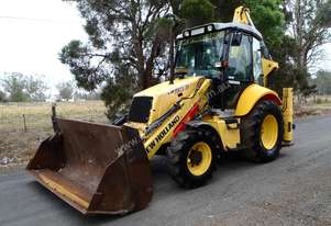 New Holland LB90 Backhoe Loader Loader
