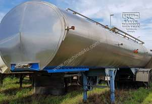 Stainless Food Grade Water Tanker. EMUS NQ