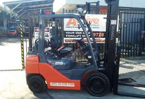 TOYOTA 8FG25 FORKLIFT 2013 MODEL LOW HRS 4.5m Lift *EOFY* Sale