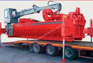 Mobile Car Baler - Scrap Baler