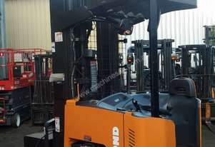 Raymond Electric Reach Truck 2 Ton 9.5m Lift 2012 Model