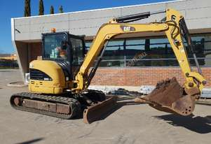 CAT 305C CR 5T EXCAVATOR WITH FULL A/C CABIN, RUBBER TRACKS, TILT HITCH AND BUCKETS