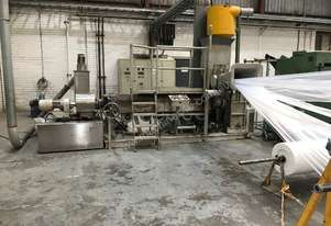 Munchy P120-130 Recycling Extruder and Pelletising Line
