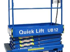 12ft Push around Scissor Lift - picture0' - Click to enlarge