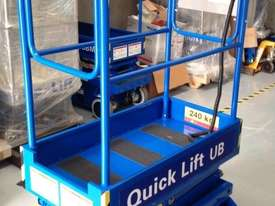 12ft Push around Scissor Lift - picture1' - Click to enlarge