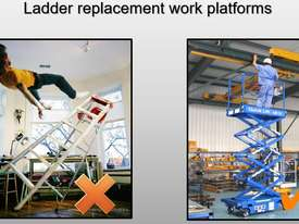 12ft Push around Scissor Lift - picture5' - Click to enlarge
