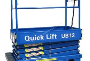 QUICK LIFT 12ft Push around Scissor Lift