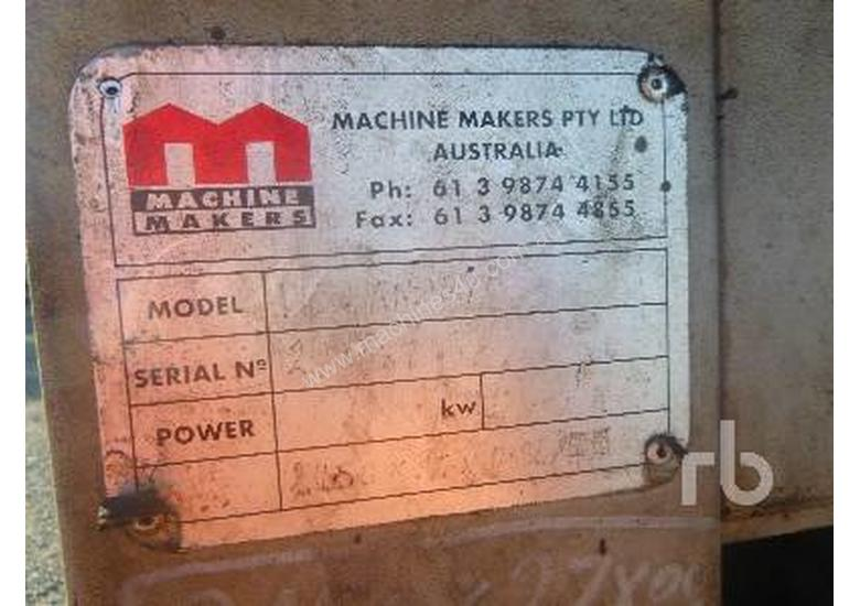 MACHINE MAKERS PKSAM270 Miscellaneous Industrial - Other