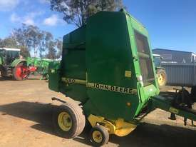 John Deere 590 Round Baler - picture1' - Click to enlarge