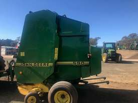 John Deere 590 Round Baler - picture2' - Click to enlarge