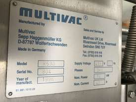 Multivac R530 Inline Thermoformer - picture4' - Click to enlarge