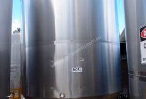 Anderson Stainless Steel Storage Tank