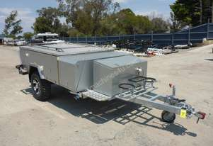 2016 Market Direct Campers Rear Fold Single Axle Off-Road Camper Trailer (Incomplete and or Unfinish