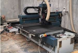 Masterwood CNC router flatbed, Scissor lift, Dust extractor, Cabinetmaking software