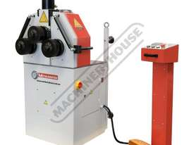 HK-50A Section &  Pipe Rolling Machine 50 x  50 x 5mm Angle Capacity Includes Hydraulic Top Bending  - picture0' - Click to enlarge
