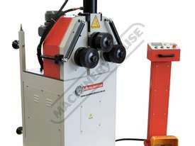 HK-50A Section &  Pipe Rolling Machine 50 x  50 x 5mm Angle Capacity Includes Hydraulic Top Bending  - picture2' - Click to enlarge