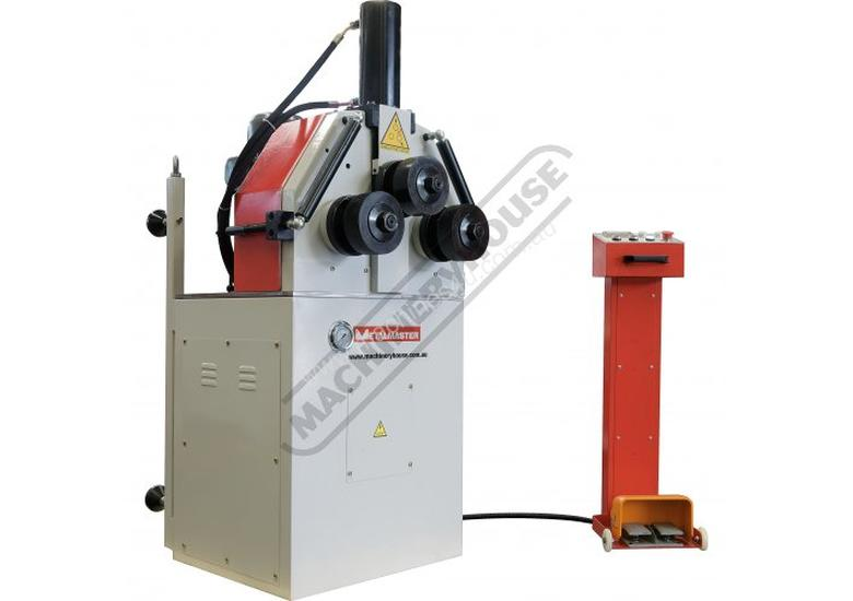 HK-50A Section &  Pipe Rolling Machine 50 x  50 x 5mm Angle Capacity Includes Hydraulic Top Bending
