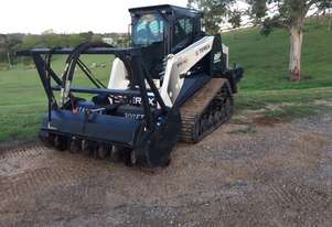 Terex PT110 Posi-Track Loader with Attachments valued at $35,000