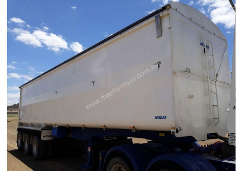 Moore R/T Combination Tipper Trailer