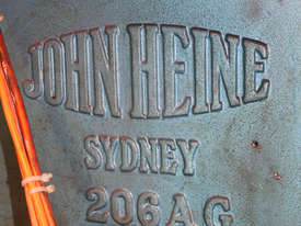 John Heine 206AG series 3 Inclinable C Frame press - picture1' - Click to enlarge