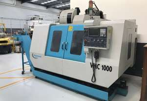 CNC Milling Machine - VMC 1000 - 2.5 Axis