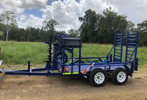 TASKMASTER Heavy Duty Plant Trailers - Suited for Mini Loaders and Attachements