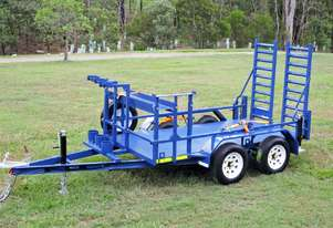 TASKMASTER Heavy Duty Plant Trailers - Suited for Machines and Attachements