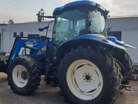 New Holland T6020 Elite Cab tractor with 4in1 loader - picture3' - Click to enlarge
