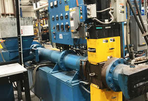 Computech Manufacturing Co.2 stage rubber compounding/sheet Extrusion Line (Compounding)
