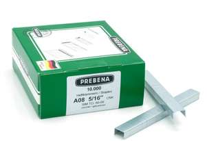 Prebena A08CNK Staples galvanized