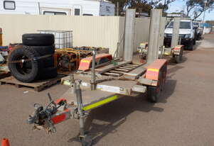 Plant Trailer 2011 Tandem Axle
