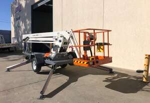 2nd Hand Snorkel MHP15/44 Trailer Mounted Boom Lift