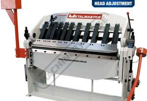 PB-422A Manual Panbrake 1250 x 2mm Mild Steel Bending Capacity Includes Quick Action Head Adjustment