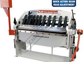 PB-422A Manual Panbrake 1250 x 2mm Mild Steel Bending Capacity Includes Quick Action Head Adjustment - picture0' - Click to enlarge