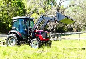 WHM   73HP 4WD Tractor with FEL