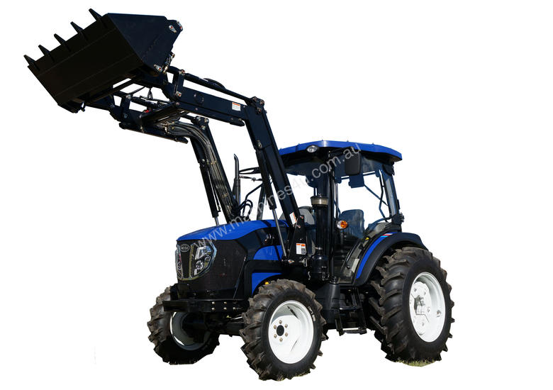 WHM 67HP 4WD Tractor with FEL&FREE 6ft Gal Slasher