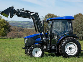 WHM 67HP 4WD Tractor with FEL&FREE 6ft Gal Slasher - picture4' - Click to enlarge