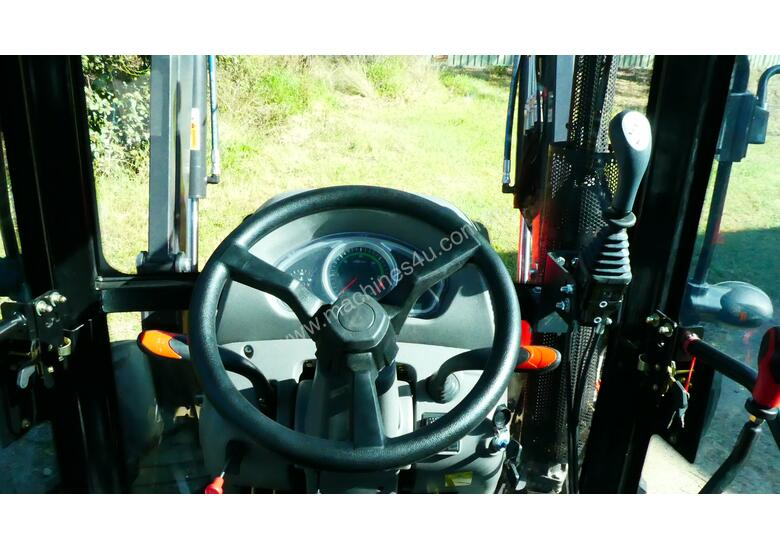 WHM 67HP 4WD Tractor with FEL