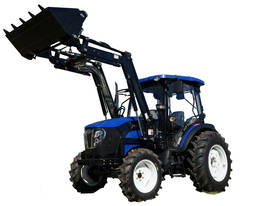 WHM 67HP at PTO 4WD Tractor with Front End Loader