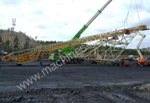 THOMAS 40M X 1200MM SELF PROPELLED RADIAL STACKER