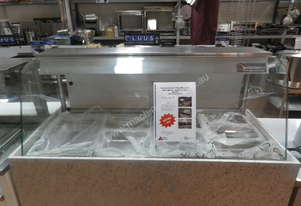 Woodson Curved Glass Bain Marie - Hot Food Display