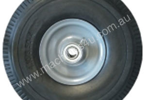 WHEEL HARD RUBBER 260MM 5/8 AXLE OFFSET