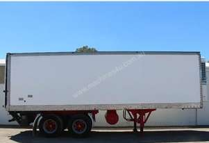 1988 MAXI-CUBE REFRIGERATED TRAILER Refrigerated P