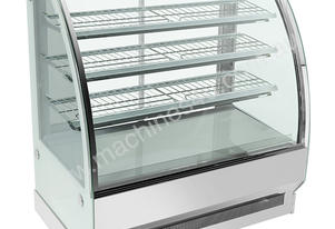 F.E.D. CS-1800S3 Bonvue Chilled Curved Glass 4 Levels Food Display
