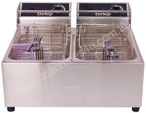 Birko 1001002 Counter-Top Fryer Two Basket 5L