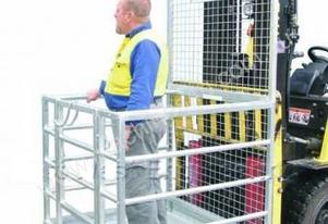 Forklift Safety Cage - Sydney Stock