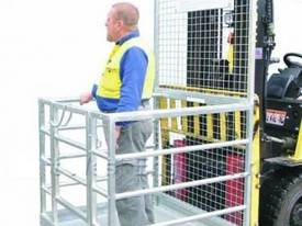 Forklift Safety Cage - Sydney Stock - picture0' - Click to enlarge