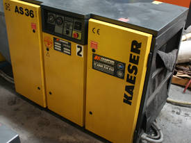AS 36 7.5bar screw compressor 22kw 125 CFM - picture0' - Click to enlarge